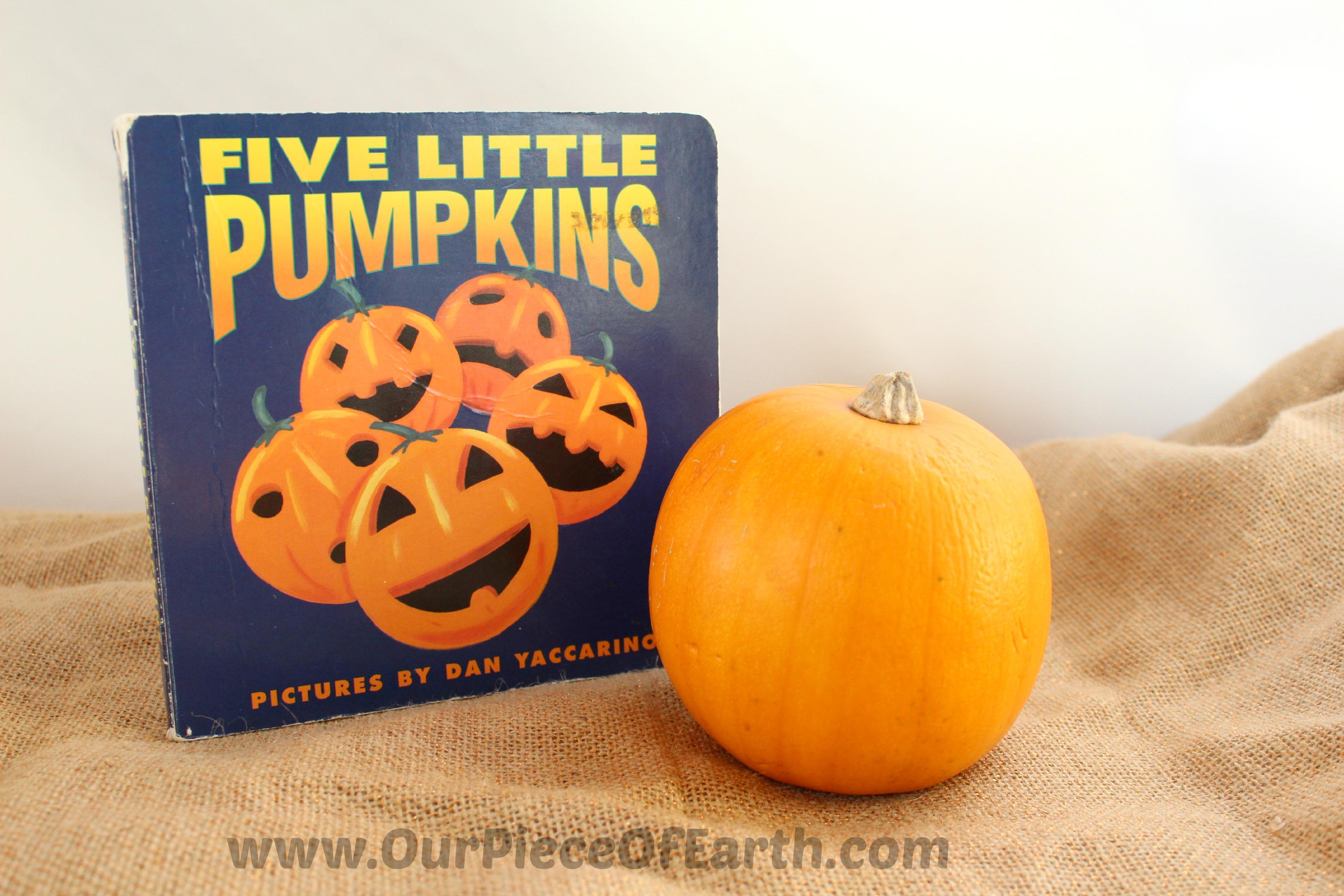 5 Little Pumpkins Book Snack Idea - Our Piece of EarthOur ...