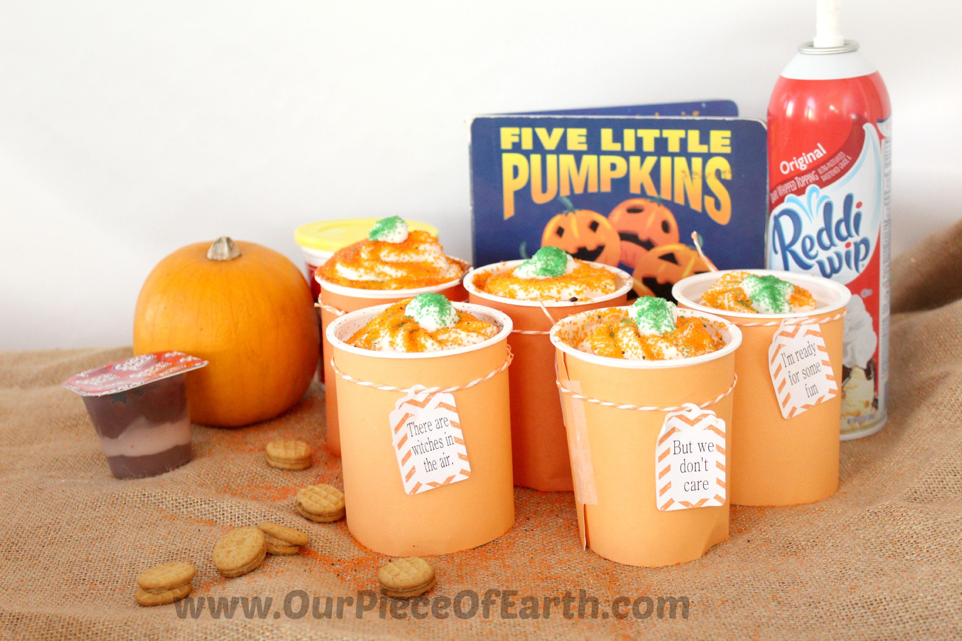 Five Little Pumpkins snack parfaits
