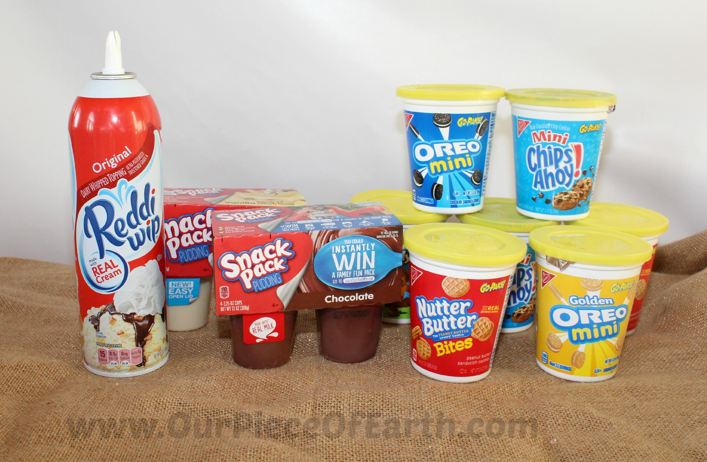 Snack Packs, Go-Paks and Reddi-Wip