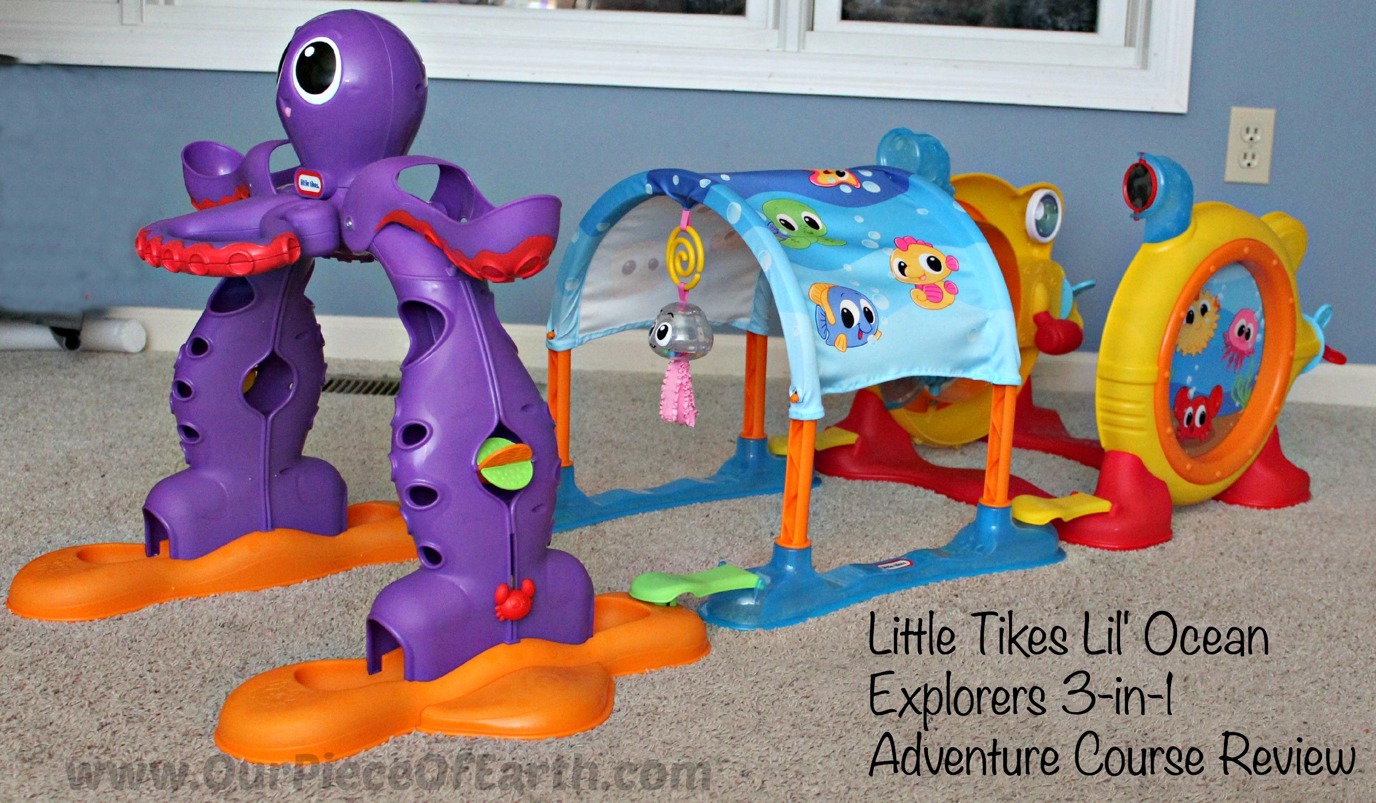 Little Tikes Lil' Ocean Explorers 3-in-1 Adventure Course