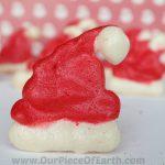 Santa Hat Meringue Cookies Recipe