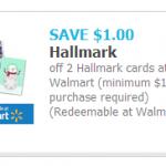 Save $1.00 on Hallmark Cards