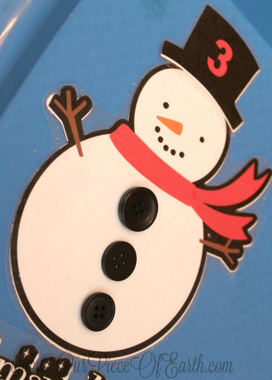 FREE printable snowman math sheet. Perfect for montessori or homeschool.