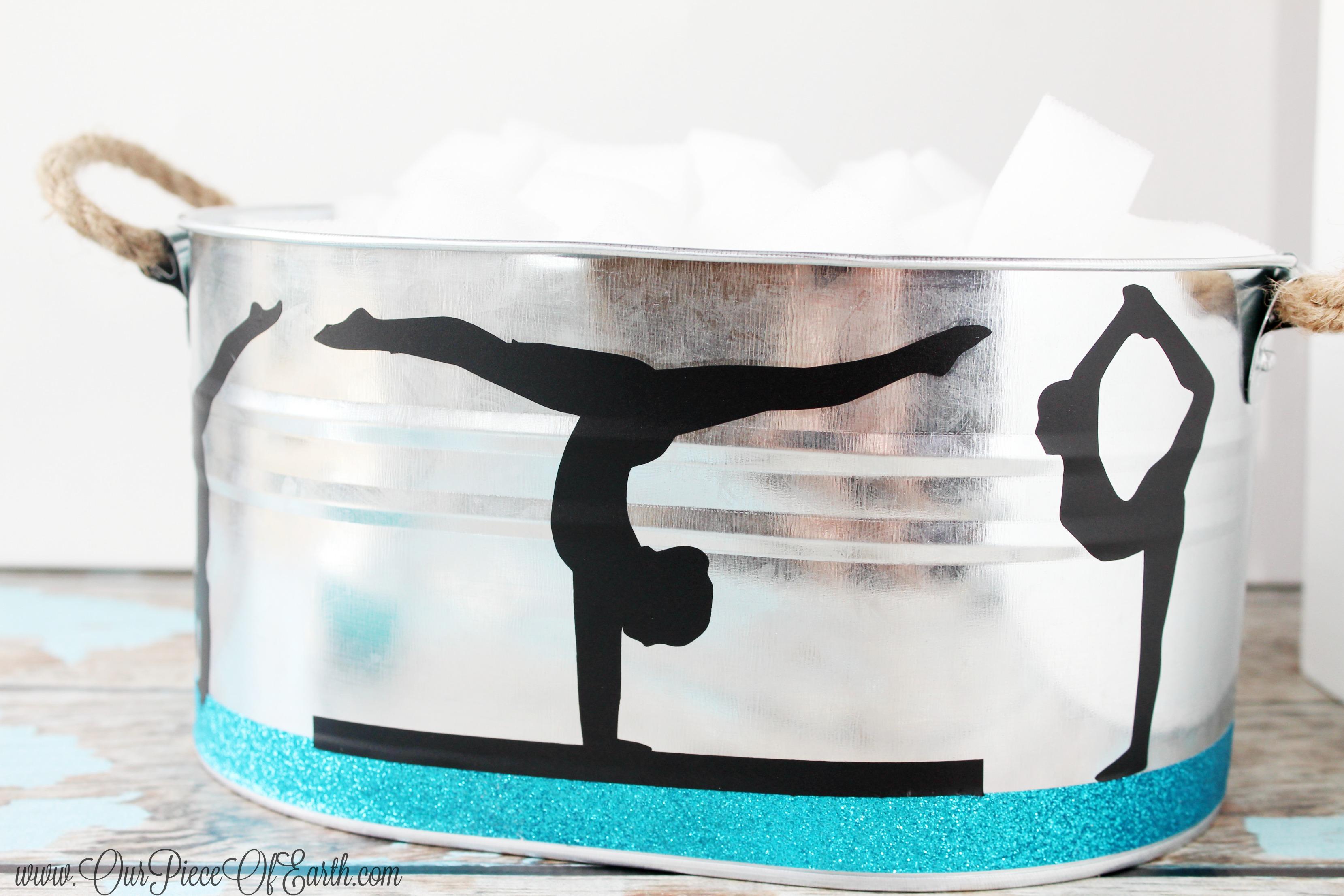 Gymnastics Silhouette #GIVEEXTRAGETEXTRA