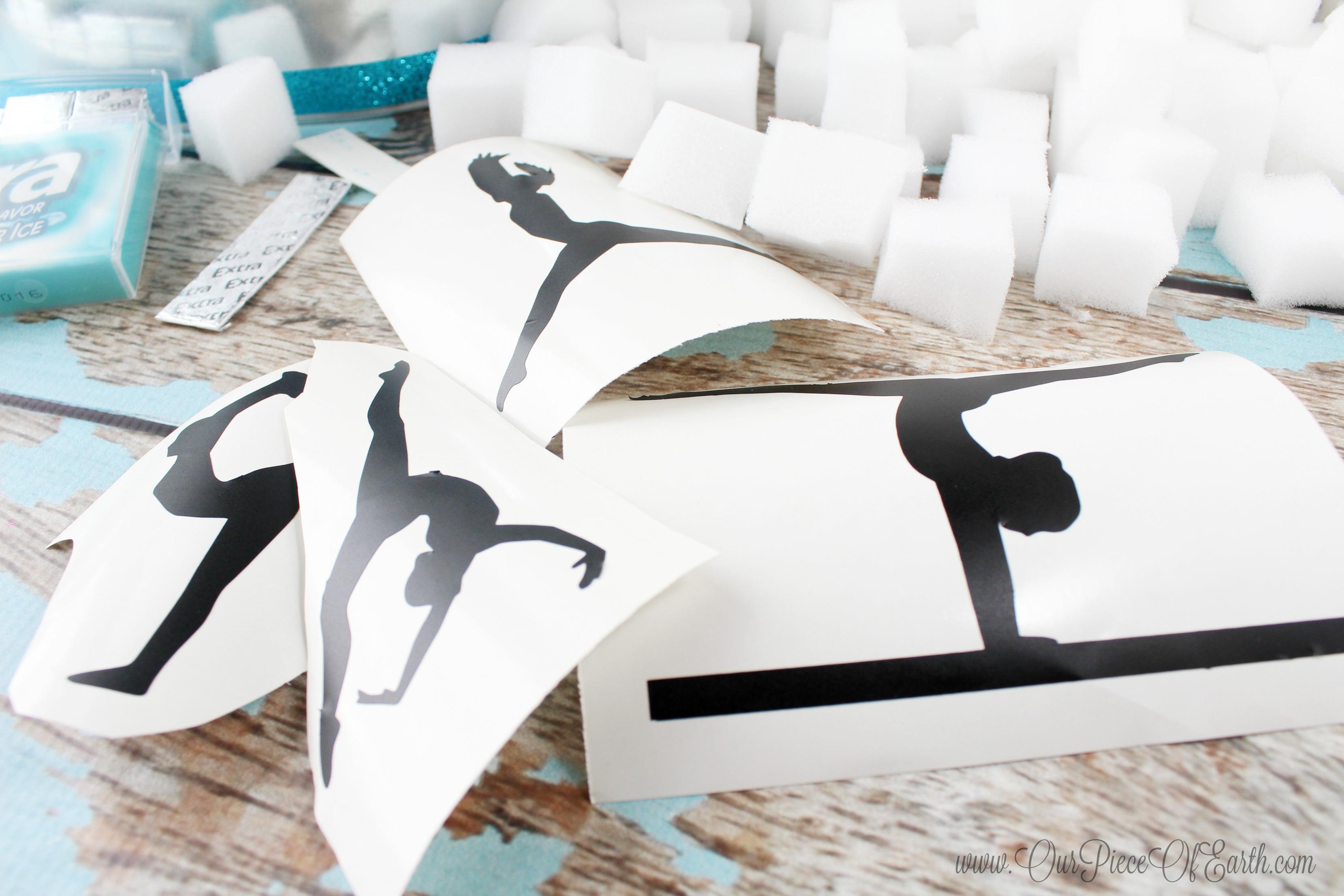 Gymnastics Silhouettes #GIVEEXTRAGETEXTRA