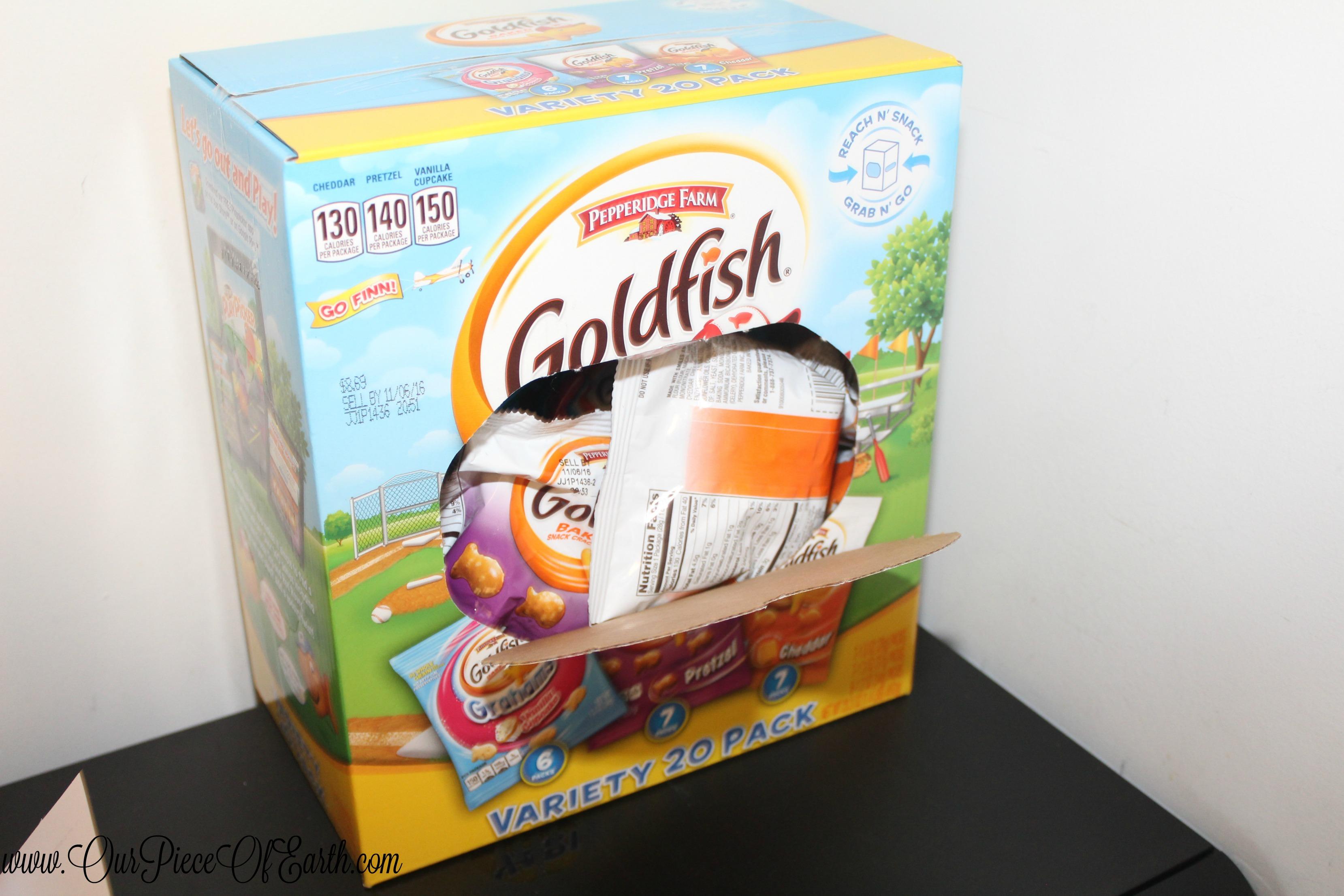 Goldfish variety pack
