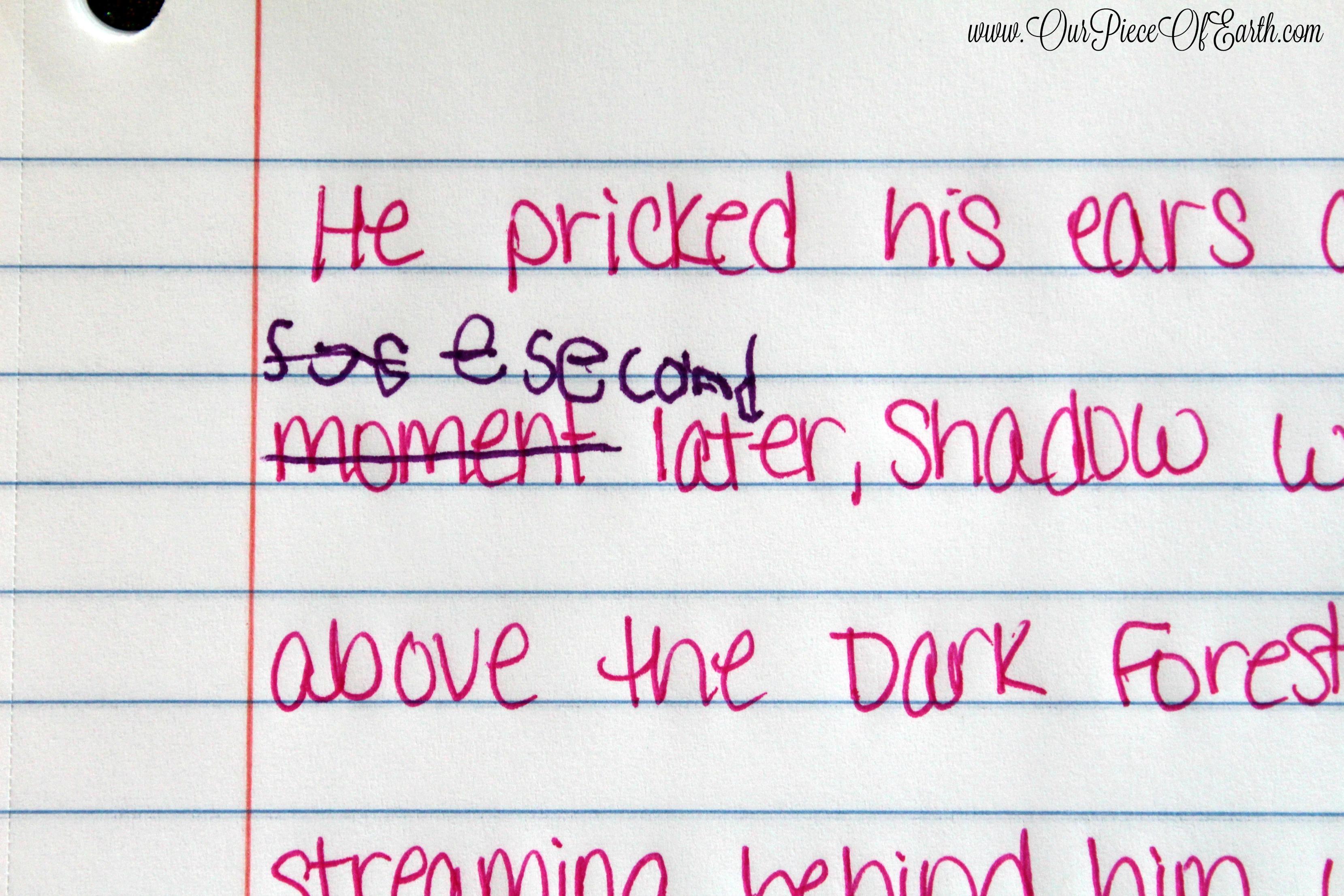 Maggie - writing