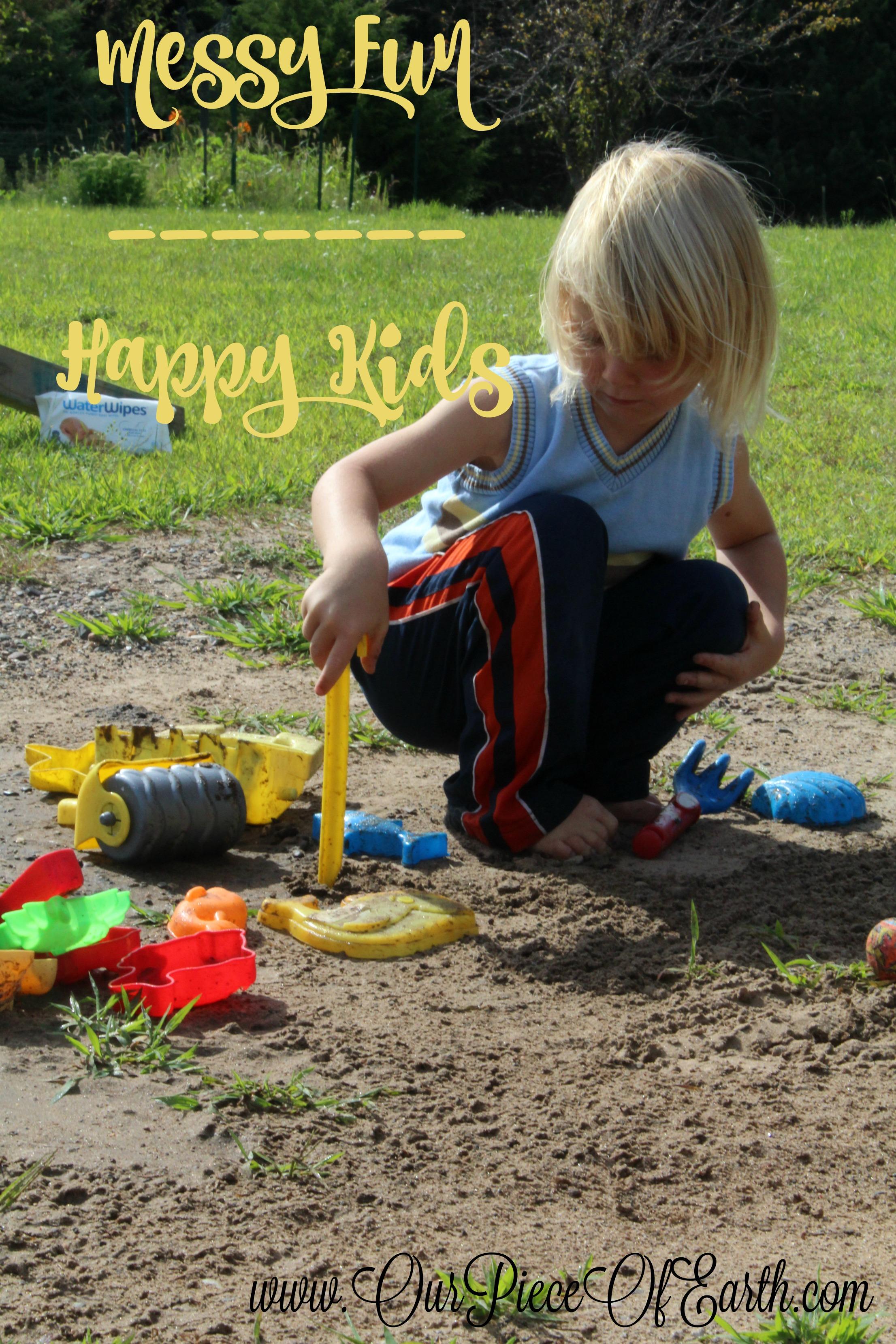 Messy Fun - Happy Kids