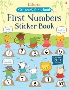 Usborne First Numbers Sticker Book