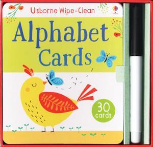 Wipe Clean Alphabet Cards