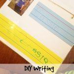 DIY Wipe Clean Writing Practice Book