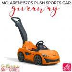 Enter to Win a Step2 McLaren Push Car