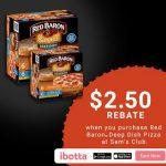 Earn $2.50 with Red Baron® Deep Dish Singles