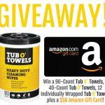 Tub O' Towels + Amazon Giveaway