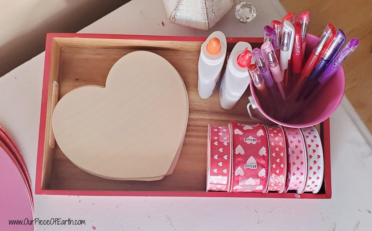 Valentine's Day Writing Area