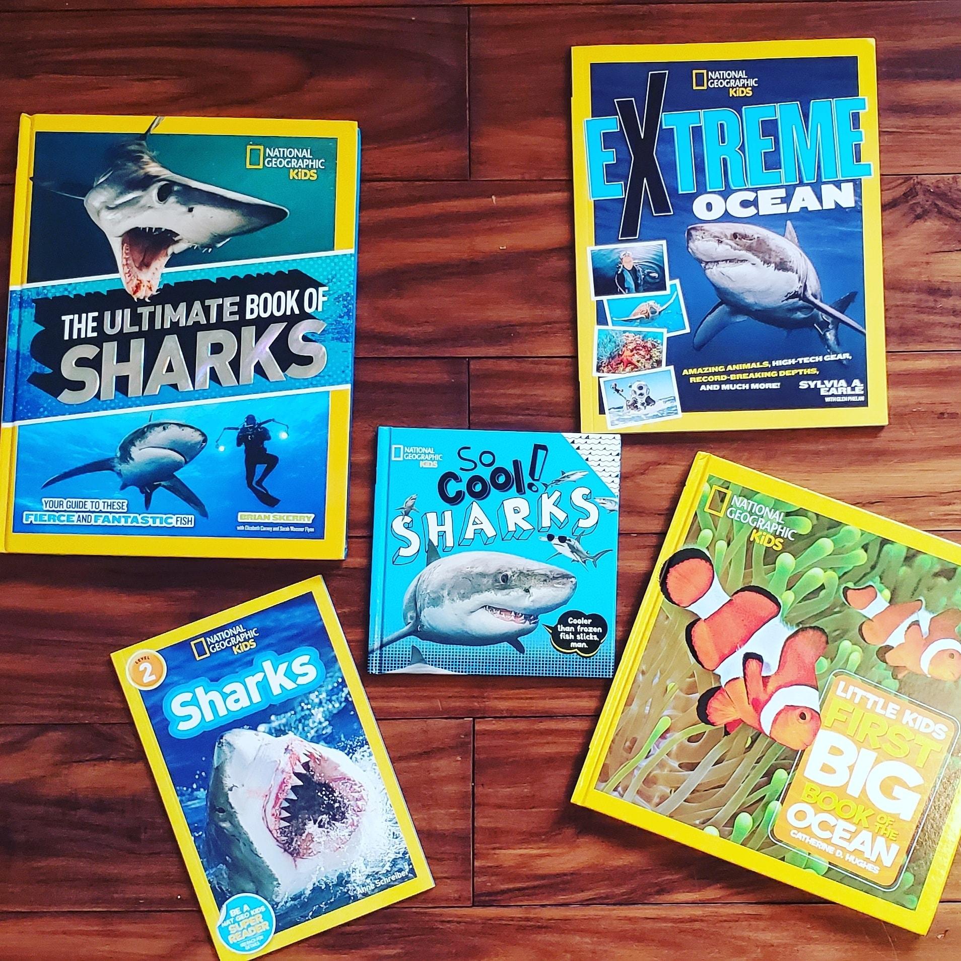 Shark Week Book Giveaway